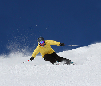 Photo of Mermer Blakeslee Skiing